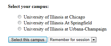 Image for selecting your campus in Box